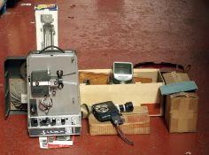 Bolex K1 8mm Cine Outfit. Comprising Bolex K1 with Vario-Switar f1.9 8-36mm zoom lens (condition