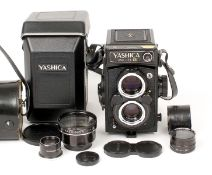 Yashica Mat 124G TLR with Working Meter. (condition 3F) with Yashinon 80mm f3.5 lens, lens cap and