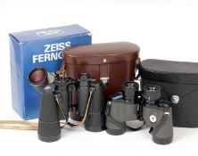 Zeiss Fernglas Dekarem 10x50 Binoculars. (condition 4E) with case and in makers box. Also a pair