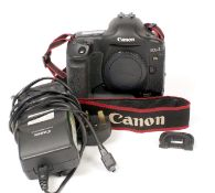 Canon EOS-1 Ds MK II DSLR Body #2. Working (condition 6E) with charger and battery (may need