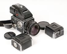 Hasselblad 503CW Medium Format Outfit. Comprising camera body, fires, but missing rewind crank (