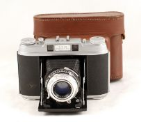 Agfa Super Isolette 120 CRF Camera. (condition 5F) with Solinar 75mm f3.5 lens and ERC. (From the
