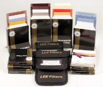 A Quantity of Lee Filters Sets, inc Circular Polariser, Grads etc. To include ND, Sky, Warm-Up, B&W,