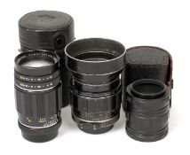 Fast 85mm f1.8 Auto-Takumar M42 Mount Lens. (body shows paint wear, glass clear, condition 6F). Also