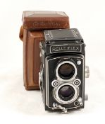 Rolleiflex Automat 120 TLR Camera #1413569. (condition 5F) Zeiss Opton 75mm f3.5 lens. With ERC. (