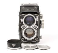 ANNOUNCE DESCRIPTION CHANGE Rolleiflex 2.8C TLR Camera #1419714. NOT metered as originally