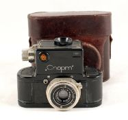 Russian GOMZ Sport - One of the First 35mm SLRs. (slight wear to covering, otherwise condition