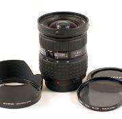 Olympus Zuiko Digital 11-22mm f2.8-3.5 Four Thirds Zoom Lens. (condition 4E). With hood, circular