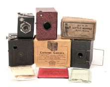 A Butcher & Sons 'Little Nipper' & Other Box Cameras. To include a Little Nipper box camera (