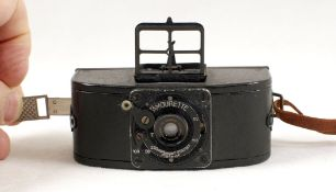 RARE Amourette Miniature Camera. Made in Austria, an early example of a 35mm camera. (condition 5F).