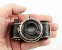 RARE 1930s Fotofex-Kamera Minifex Sub-Miniature Camera. (condition 5F). (From the Bob White