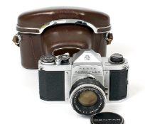 Rare Penta Asahiflex, Specially Named for the South African Market. #230406 (slight wear to chrome