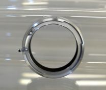 Rare Lens Reversing Ring for Exakta 66. In remains of original box. (From the Bob White Collection).