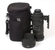 CONDITION CHANGE.Sigma 50-500mm f4-6.3 D APO HSM Zoom Lens, Nikon AF Fit. Unable to remove