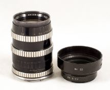 Uncommon Angenieux 90mm f2.5 Type Y12 Portrait Lens for Rectaflex. #428057 (condition 5F). With