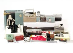 Extensive Minox B Sub-miniature 'Spy Camera' Outfit. To include Minox B (condition 4/5F) with