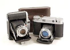 Voigtlander and Konica Coupled Rangefinder Cameras. Comprising Voigtlander Vito III with Ultron f2.0