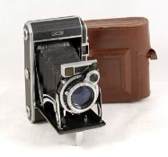 Royer Teleroy Medium Format CRF Roll Film Camera. (condition 4F) with Som Berthiot Flor f3.5 105mm