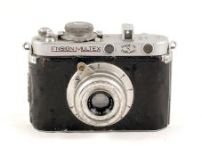 Ensign Multex Model O Restoration Project. #21315 Poor condition with seized shutter. Ensign