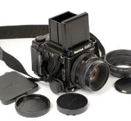 Mamiya RZ67 Pro II Medium Format Camera. (scratches to top of finder, otherwise condition 5F) with
