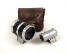 Uncommon Nippon Kogaku Universal Zoom Finder for Nikon Rangefinder Cameras. (condition 5F) in