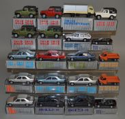 20 boxed diecast models by Mercedes Benz (20)