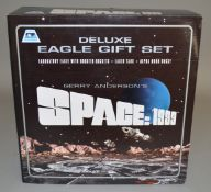 A Gerry Anderson 'Space 1999' Deluxe Eagle Gift Set by Product Enterprise, appears VG/E boxed.