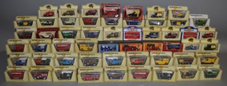41 Matchbox Models Of Yesteryear along with 13 others by Oxford, Lledo etc, all boxed. (54).