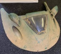 James Bond original film used prop Hovercraft Nose Cone. This is the actual nose front of the