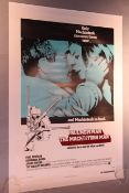 Paul Newman The Mackintosh Man original 1973 US one sheet film poster backed on linen 27 x 41