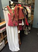 Ex-movie-studio large collection of costumes obtained from Western Costumes Company, including: