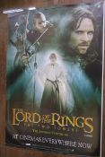 Lord of the Rings The Two Towers set of 3 original double-sided rolled film posters measuring 47 x