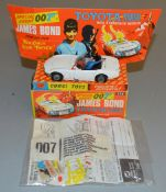 A Corgi Toys 336 James Bond 007 Toyota 2000GT, G in G+ box with envelope, instruction sheet, cloth