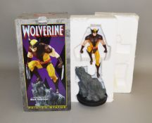 Wolverine limited edition 11 inch tall painted statue sculpted by Mark Newman (1)