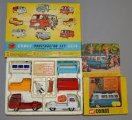 2 boxed Corgi Toys based on Commer PB vehicles, 479 Commer Van with 'Samuelson Film Services