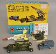 A boxed Corgi Toys Gift Set 4 Bristol Bloodhound Guided Missile with Launching Ramp, Loading Trolley