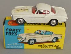 A Corgi Toys 258 The Saint's Car Volvo P.1800, generally G with some rubs and small chips in a G+