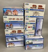 Ex-Shop Stock N gauge 14 kits by Kibri which includes; #37100, #37226 etc (14)