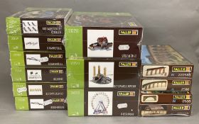Ex-Shop Stock N gauge x13 kits by Faller, which includes; #232255, #222211, #242312 etc (13).