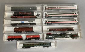 Ex-Shop Stock N Gauge Fleischmann rolling stock including 829505 Car transporter (11)