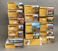 Ex-Shop Stock N gauge x17 kits by Vollmer which includes; #7740, #7731, # 7737 etc (17)