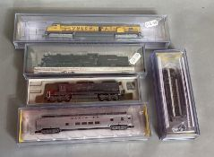 Ex-Shop Stock N gauge Bachmann / Spectrum 3 x Engines, 65151, 81661, 63753, together with an Inter M