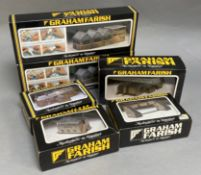 Ex-Shop Stock N Gauge Graham Farish Accessories including 9504 factory unit (6)