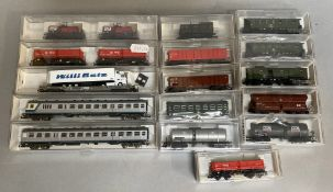 Ex-Shop Stock N Gauge Fleischmann rolling stock x 16