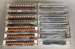 Ex-Shop Stock N Gauge Fleischmann coaches x 14