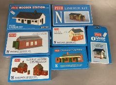 Ex-Shop Stock N / HO gauge x7 kits by Peco (7).