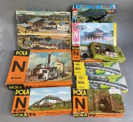 N gauge Lineside Accessory Kits in Fair Boxes (10)