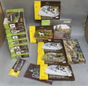 Ex-Shop Stock N Gauge & HO Gauge Faller lineside accessory packs (15)