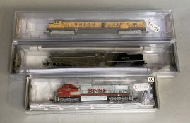 Ex-Shop Stock N gauge Bachmann / Spectrum 3 x Engines 83356, 86075 & 65152