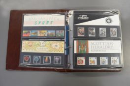 A folder of approx sixty Royal Mail presentation packs 1986-1994